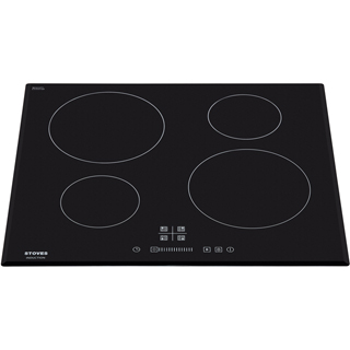 Stoves SIH602TC Built In Induction Hob - Black - SIH602TC_BK - 2
