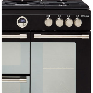 Stoves Sterling S900G Gas Range Cooker - Stainless Steel - Sterling S900G_SS - 3