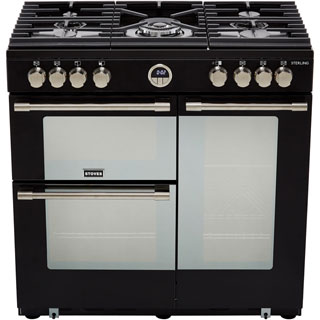 Stoves Sterling S900G Gas Range Cooker - Stainless Steel - Sterling S900G_SS - 4