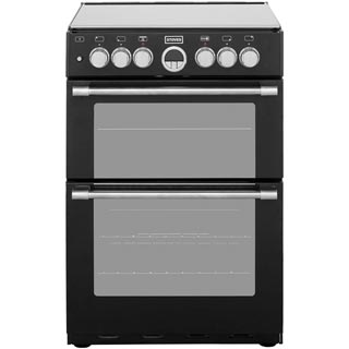 Stoves Sterling STERLING600DF Dual Fuel Cooker - Black - STERLING600DF_BK - 1