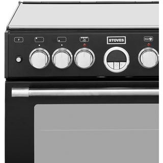 Stoves Sterling STERLING600DF Dual Fuel Cooker - Stainless Steel - STERLING600DF_SS - 4