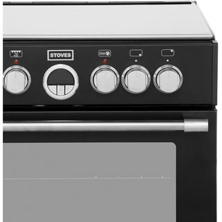 Stoves Sterling STERLING600DF Dual Fuel Cooker - Stainless Steel - STERLING600DF_SS - 5
