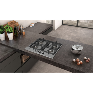 NEFF N50 T26BB59N0 Built In Gas Hob - Stainless Steel - T26BB59N0_SS - 5