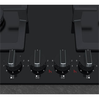 NEFF N70 T26CA42S0 Built In Gas Hob - Black - T26CA42S0_BK - 3