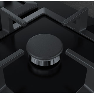 NEFF N70 T26CA42S0 Built In Gas Hob - Black - T26CA42S0_BK - 4