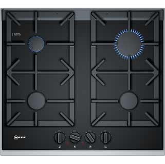 NEFF N90 T26TA49N0 Built In Gas Hob - Black - T26TA49N0_BK - 1