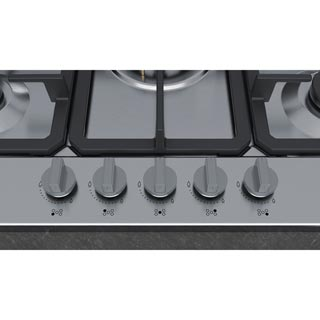 NEFF N50 T27BB59N0 Built In Gas Hob - Stainless Steel - T27BB59N0_SS - 3