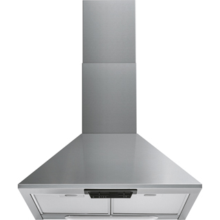 Indesit UHPM6.3FCSX/1 Built In Chimney Cooker Hood - Stainless Steel - UHPM6.3FCSX/1_SS - 1