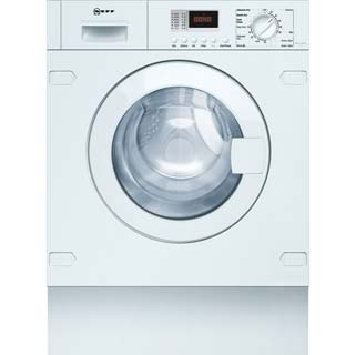 NEFF V6320X1GB Built In Washer Dryer - White - V6320X1GB_WH - 1