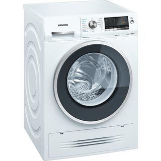 Siemens IQ-500 WD14H422GB Washer Dryer - White - WD14H422GB_WH - 1