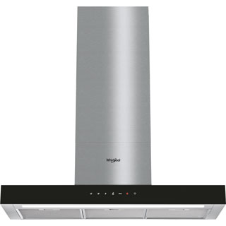 Whirlpool W Collection WHBS92FLTK Built In Chimney Cooker Hood - Black - WHBS92FLTK_BK - 1