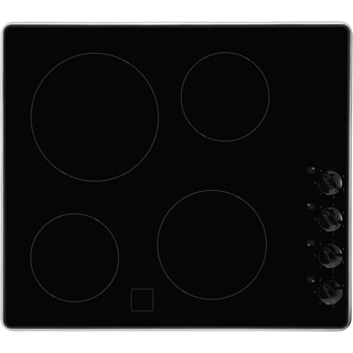 Whirlpool AKM609IX Built In Ceramic Hob - Black - AKM609IX_BK - 1