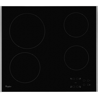 Whirlpool AKT8090LX Built In Ceramic Hob - Black - AKT8090LX_BK - 1