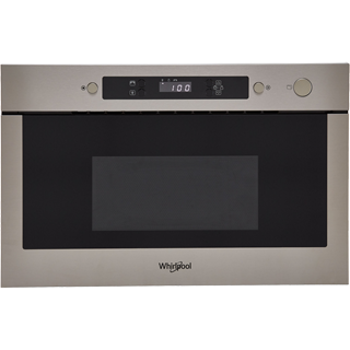 Whirlpool AMW423/IX Built In Microwave - Stainless Steel - AMW423/IX_SS - 1