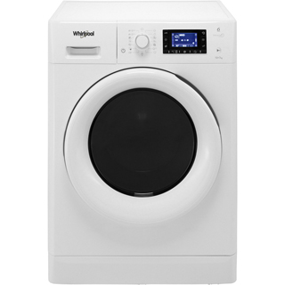 Whirlpool FWDD1071681W Washer Dryer - White - FWDD1071681W_WH - 1