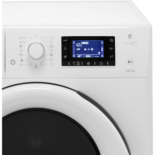 Whirlpool FWDD1071681W Washer Dryer - White - FWDD1071681W_WH - 3
