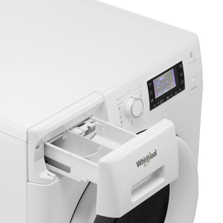 Whirlpool FWDD1071681W Washer Dryer - White - FWDD1071681W_WH - 4