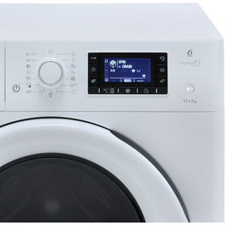 Whirlpool FreshCare FWDD117168W Washer Dryer - White - FWDD117168W_WH - 3