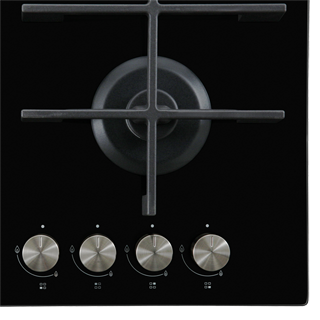 Whirlpool W Collection GOW6423/NB Built In Gas Hob - Black - GOW6423/NB_BK - 3