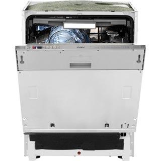 Whirlpool WIO3O43DLSUK Built In Standard Dishwasher - Silver
