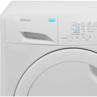 Zanussi Lindo100 ZDP7208PZ 7Kg Condenser Tumble Dryer - White - B Rated - ZDP7208PZ_WH - 2