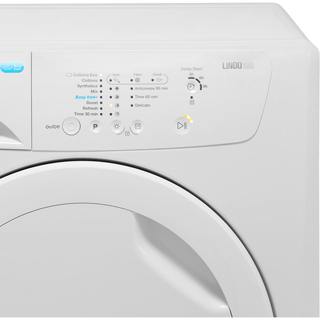 Zanussi Lindo100 ZDP7208PZ 7Kg Condenser Tumble Dryer - White - B Rated - ZDP7208PZ_WH - 3
