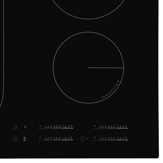 Zanussi ZIL6470CB Built In Induction Hob - Black - ZIL6470CB_BK - 2