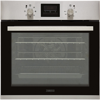 Zanussi ZOB35471XK Built In Electric Single Oven - Stainless Steel - ZOB35471XK_SS - 1