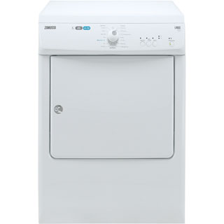 Zanussi ZTE7101PZ 7Kg Vented Tumble Dryer - White - C Rated - ZTE7101PZ_WH - 1