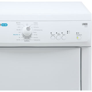 Zanussi ZTE7101PZ 7Kg Vented Tumble Dryer - White - C Rated - ZTE7101PZ_WH - 3