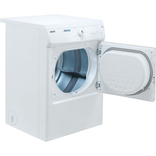 Zanussi ZTE7101PZ 7Kg Vented Tumble Dryer - White - C Rated - ZTE7101PZ_WH - 5