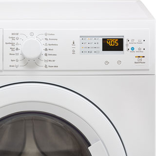 Zanussi Lindo1000 ZWD71460NW 7Kg / 4Kg Washer Dryer with 1400 rpm - White - ZWD71460NW_WH - 3