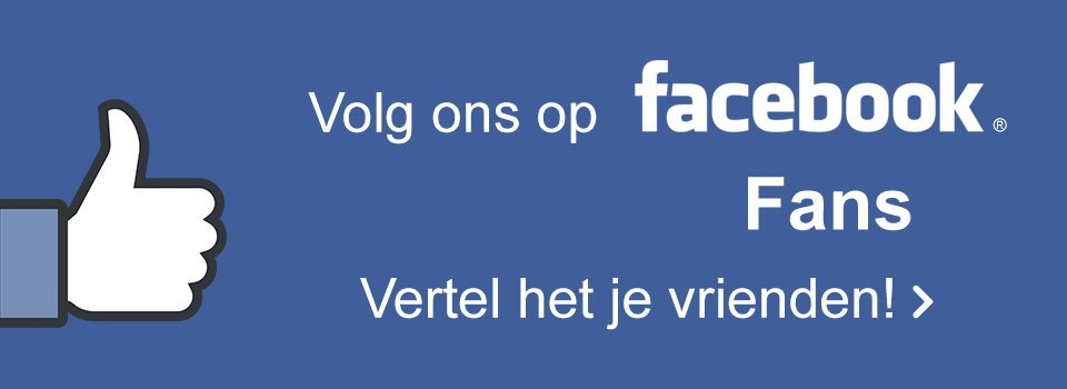 Volg ons op Facebook - 1.7 miljoen fans