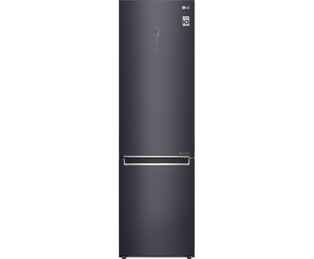 LG GBB92MCAXP Koelvriescombinaties - Zwart