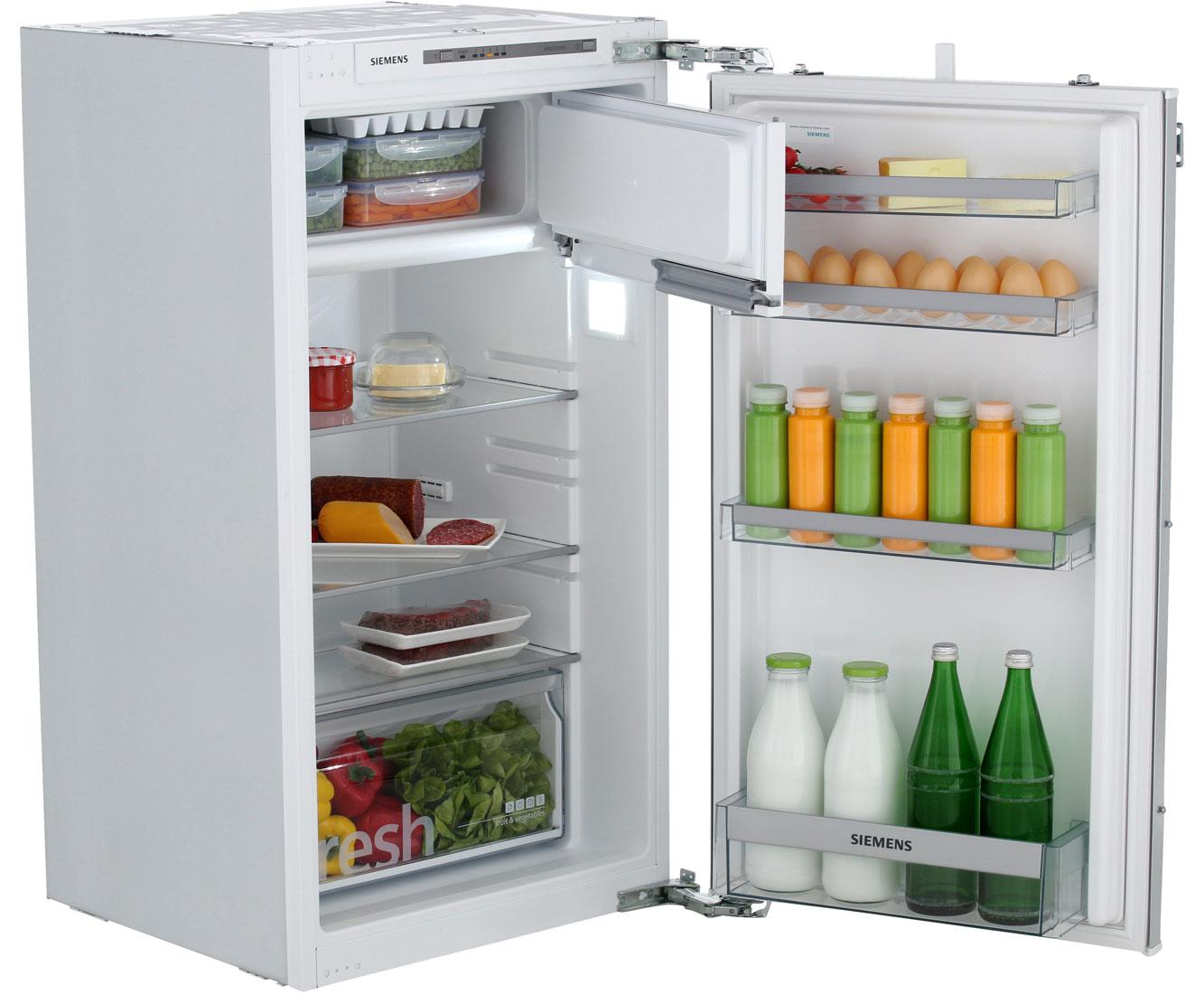 inbouw koelkast 102 cm met vriesvak deur op deur