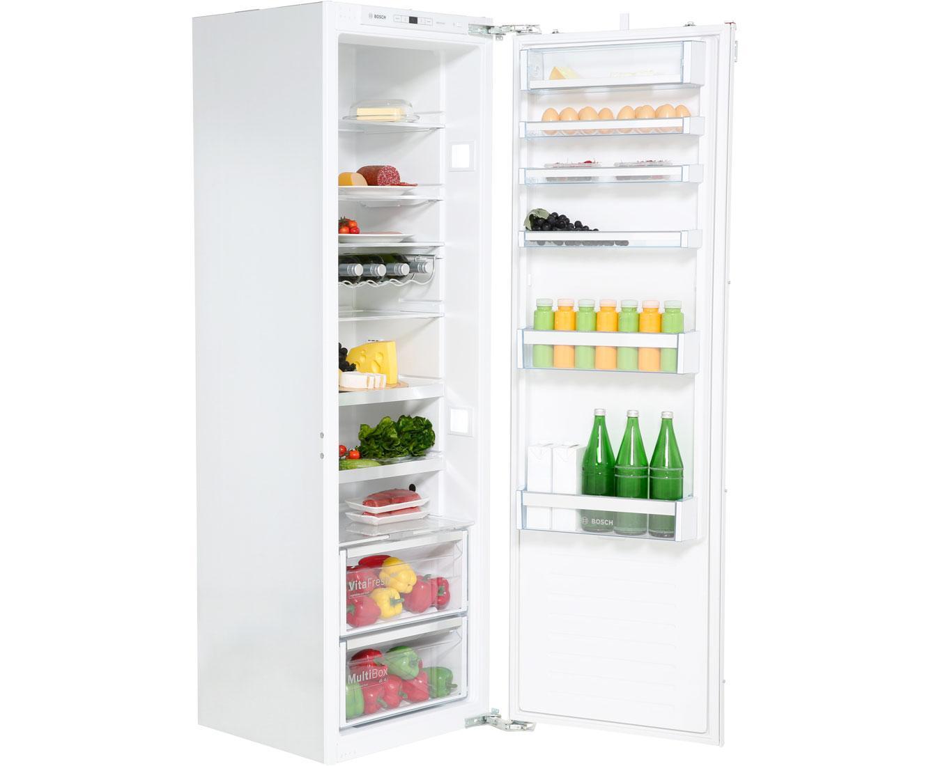 inbouw koelkast deur op deur systeem