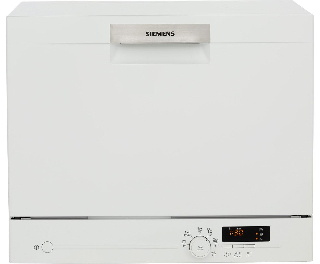 Siemens SK26E221EU Mini 6couverts A+ Wit vaatwasser