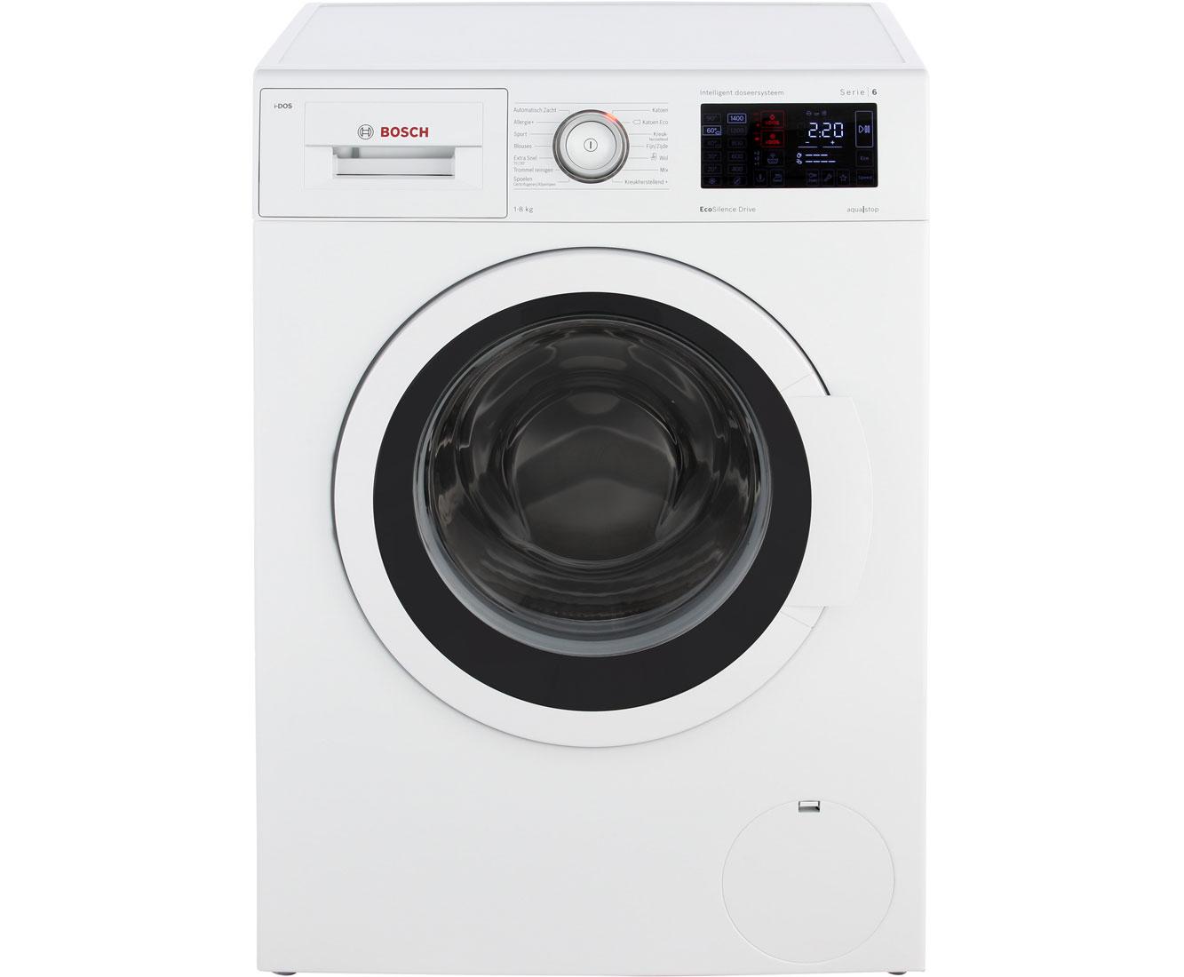 Bosch wasmachine serie 6