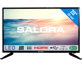 Salora 20LED1600 HD ready TV - 20 inch, Zwart - 20LED1600_20 - 1