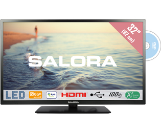 Salora 32HDB5005 HD Ready TV - 32 inch, Zwart - 32HDB5005_BK - 1