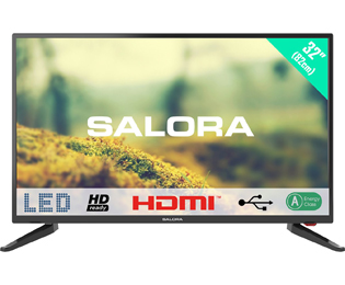 Salora 32LED1500 HD ready TV - 32 inch, Zwart - 32LED1500_32 - 1