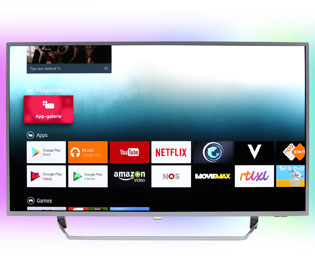 Philips 55PUS7303 4K Ultra HD TV - 55 inch, Zilver - 55PUS7303_SI - 1