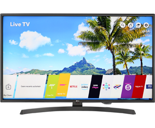 LG 43UK6750PLD 4K Ultra HD TV - 43 inch, Grijs - 43UK6750PLD_GR - 1
