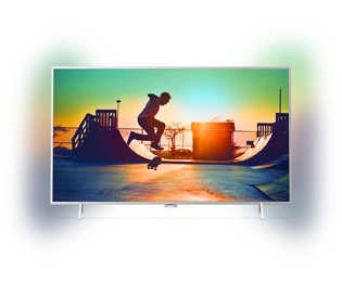 Philips 49PUS6432 4K Ultra HD TV - 49 inch, Zilver - 49PUS6432_SI - 1