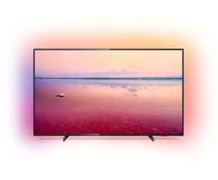 Philips 50PUS6704/12 4K Ultra HD TV - 50 inch, Zwart - 50PUS6704/12_BK - 1