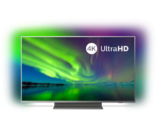 Philips 50PUS7504/12 4K Ultra HD TV - 50 inch, Zilver - 50PUS7504/12_SI - 1