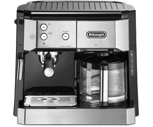 De'Longhi BC0421.S Combi Espresso & Koffiezetapparaat