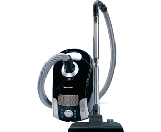 Miele Compact C1 Youngstyle Powerline Sledestofzuiger met zak - Zwart - C1 Youngstyle Powerline_BK - 1