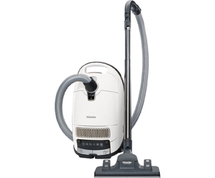 Miele Complete C3 Silence Lotuswit EcoLine Sledestofzuiger met zak - Wit - C3 Silence Lotuswit EcoLine_WH - 1