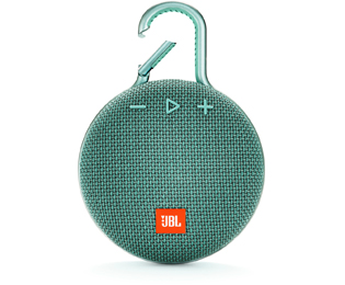 JBL Clip 3 Bluetooth luidspreker Handsfree-functie, Outdoor, Spatwaterdicht Turquoise